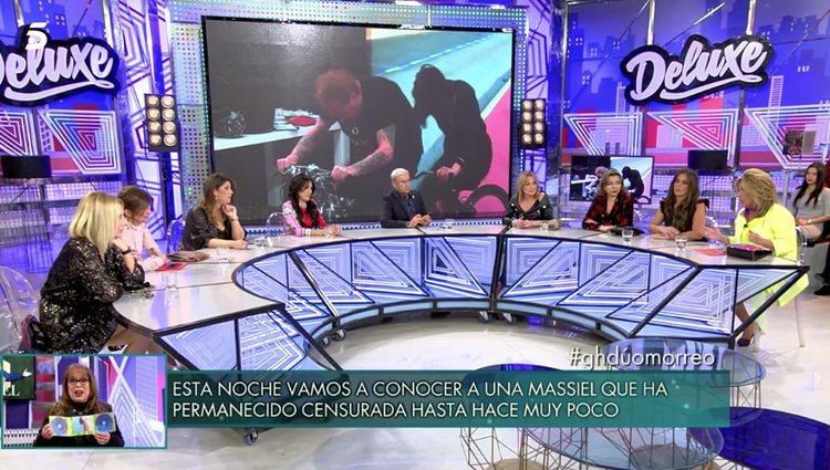 Mesa de debate 'GH DÚO' en 'Sábado Deluxe' | Foto: telecinco.es