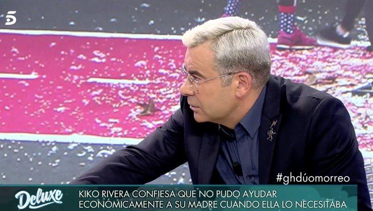 Jorge Javier hablándole a Maite Galdenao| Foto: telecinco.es