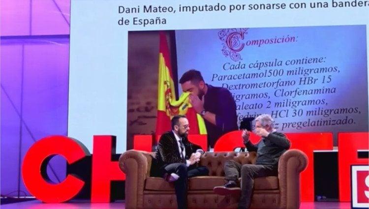 Josema Yuste critica la broma de Dani Mateo en su visita a 'Chester'/Foto:Mitele