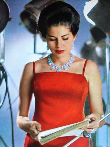 Soraya de Irán en su etapa como actriz