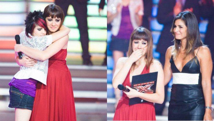 María Villalón ganó el talent show musical de Cuatro 'Factor X' en 2007