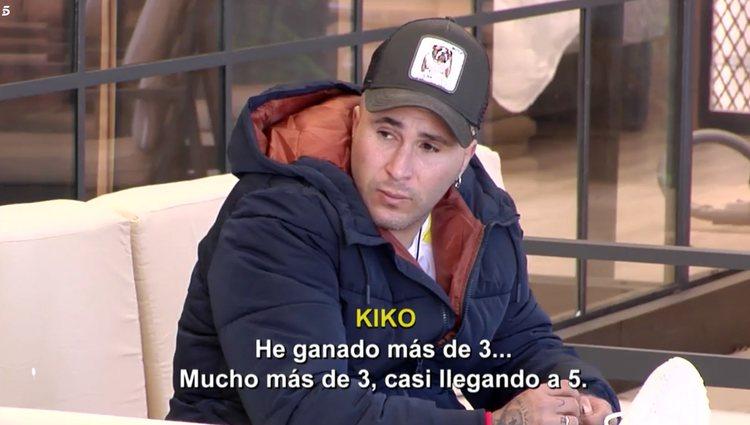 Kiko Rivera confesando sus derroches | Foto: Telecinco.es