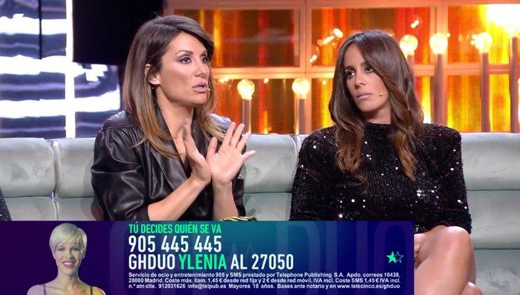 Nagore y Anabel opinando de las palabras de Irene / Telecinco.es