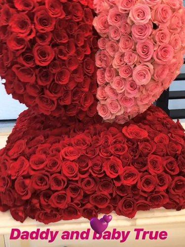 El regalo de Tristan Thompson para Khloé Kardashian en San Valentín | Foto: Instagram