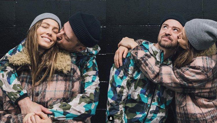Imágenes de Justin Timberlake y Jessica Biel