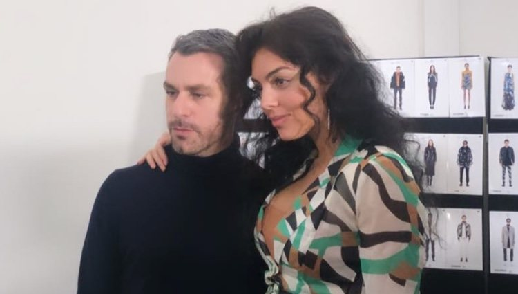 Georgina Rodríguez con Paul Surridge/ Foto: Instagram