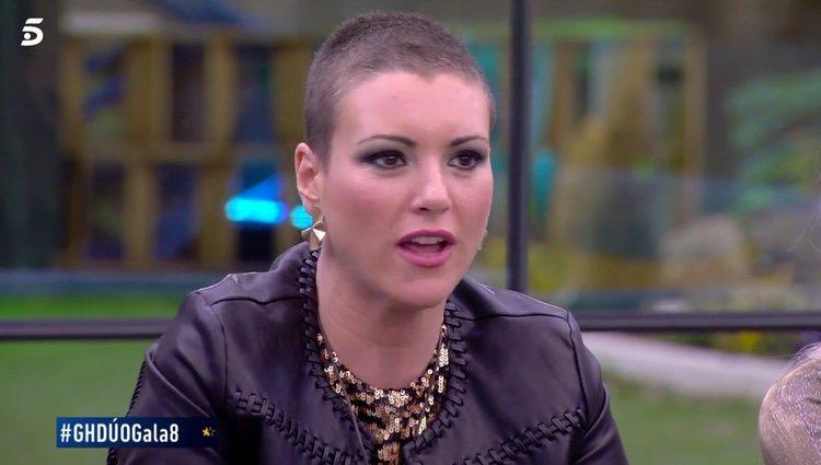 María Jesús defendiéndose de las críticas / Telecinco.es