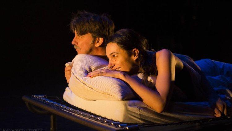 Laia Alemany en la obra de teatro 'Danny y Roberta'