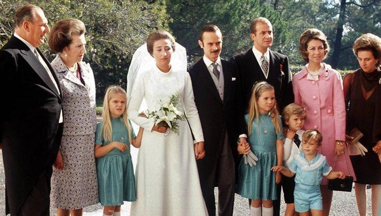 Boda de la Infanta Margarita y Carlos Zurita en Estoril | Instagram