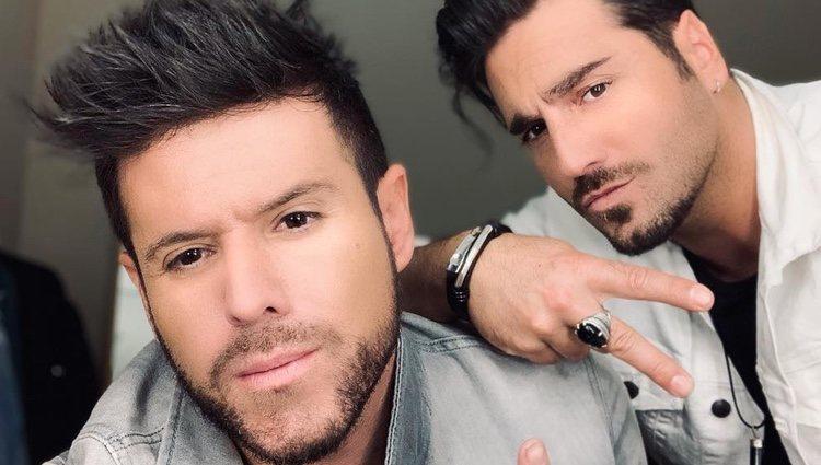 Pablo López y David Bustamante | Foto: Instagram