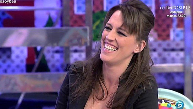 Bea 'la legionaria' en 'Sálvame' | Foto: telecinco.es