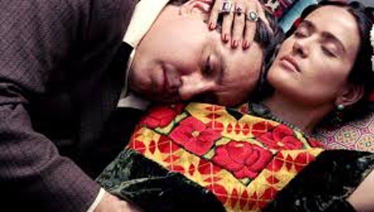 Frida y su marido en la película 'Frida'
