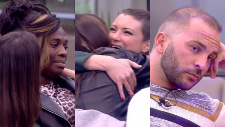 Antonio y Carolina reaccionan a la vuelta de MªJesús en lugar de Ylenia   telecinco.es