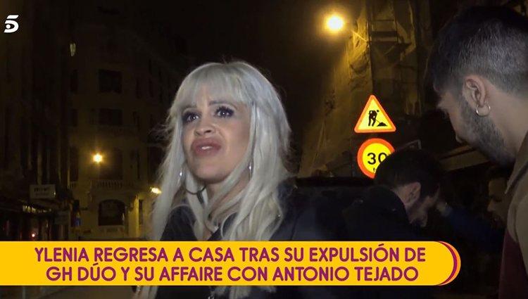 Ylenia tras su expulsión/Foto: Telecinco.es