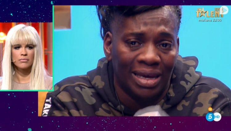 Carolina rompe a llorar al hablar de MªJesús e Irene como madres | telecinco.es