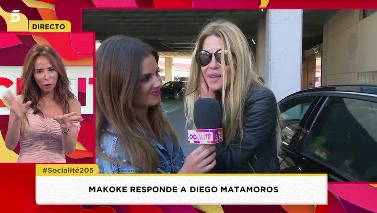 Makoke respondiendo a las acusaciones de Diego Matamoros / Telecinco.es
