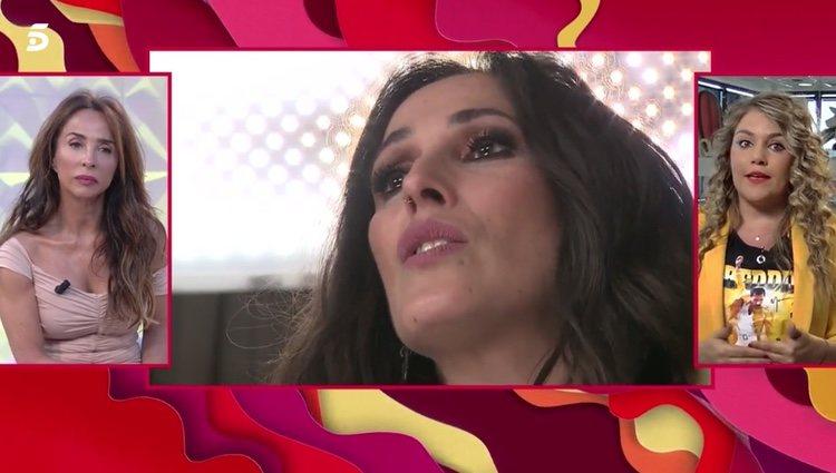 María Patiño hablando de Malú en 'Socialité' | Foto: telecinco.es