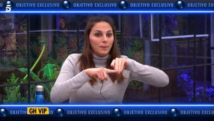 Irene Rosales en 'GHDÚO'/foto:telecinco.es