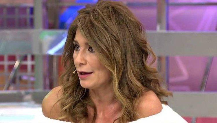 Gema López en 'Sálvame'/ Telecinco.es