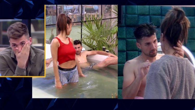 Alejandro se avergüenza de su bochornosa actitud con Sofía en el jacuzzi | telecinco.es