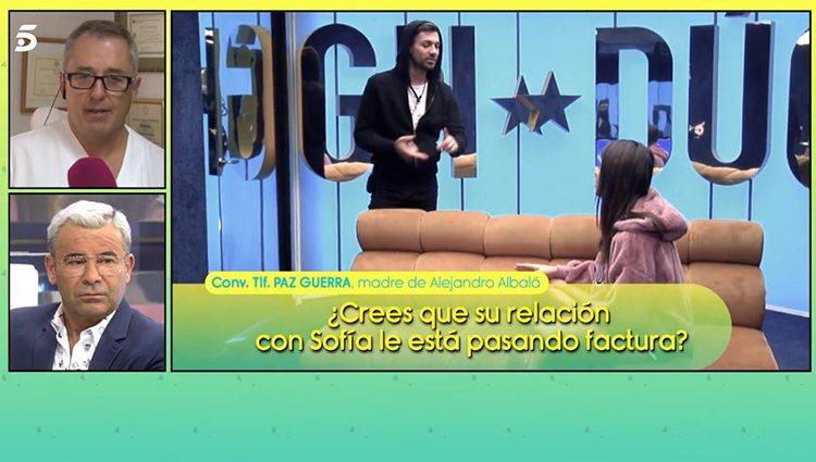 La madre de Albalá al teléfono/ Foto: Telecinco.es