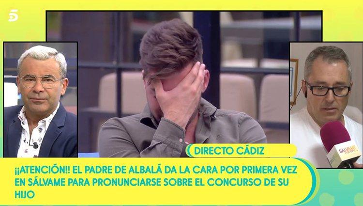 El padre de Albalá/ Foto: Telecicno.es