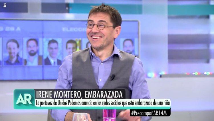 Juan Carlos Monedero en el 'Programa de Ana Rosa'
