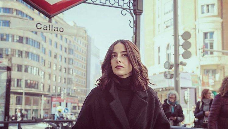 Cecilia Suárez en Madrid / Instagram