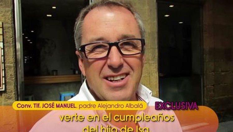 El padre de Alejandro Albalá | Foto. telecinco.es