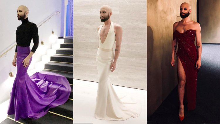 Las últimas imágenes de Conchita con vestido y sin peluca | Instagram