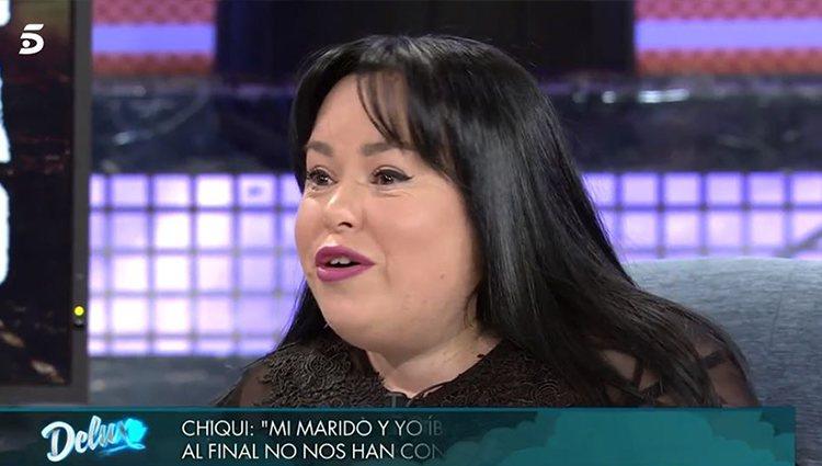 Chiqui en 'Sábado Deluxe'/ Foto: Telecinco.es