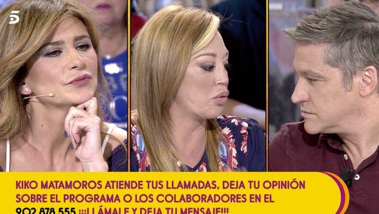 Belén Esteban defendiendo a Gema López