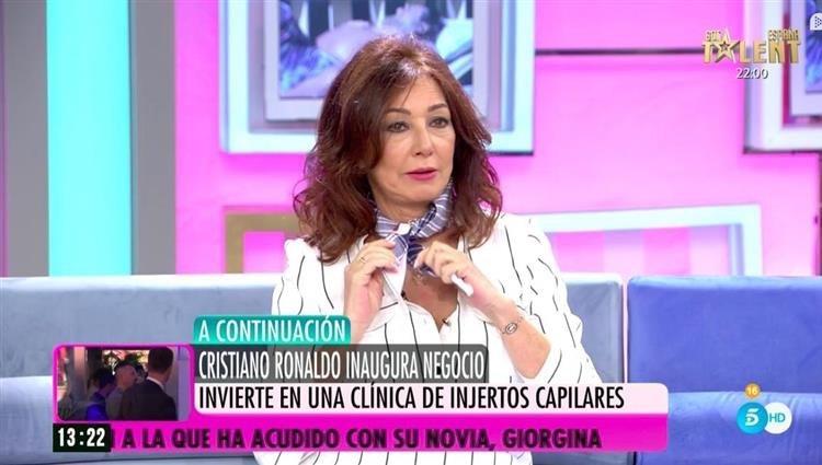 Ana Rosa Quintana en 'El programa de Ana Rosa'   Foto: telecinco.es