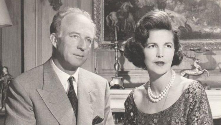 El Rey Leopoldo III de Bélgica junto a la Princesa Lilian | Pinterest
