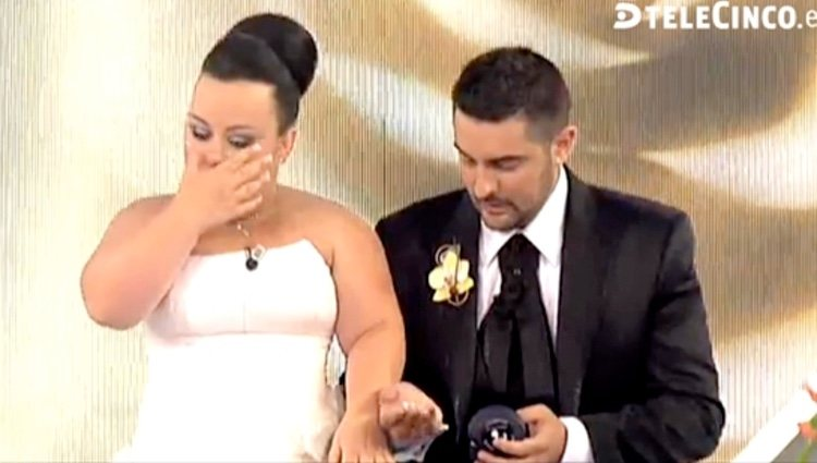 Chiqui y Borja en 'Las bodas de Sálvame' / Telecinco.es