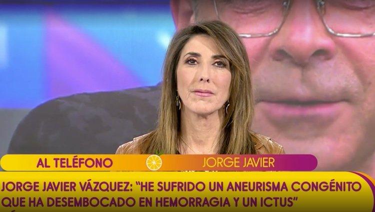 Jorge Javier entra en directo en Sálvame