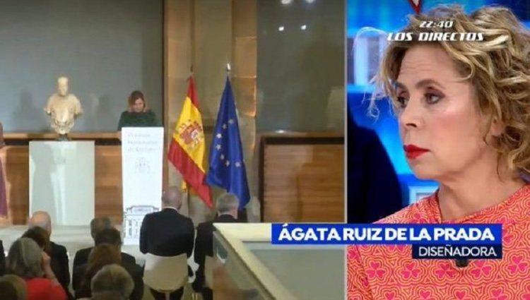 Ágatha Ruiz de la Prada en 'Espejo Público' | Foto: antena3.com