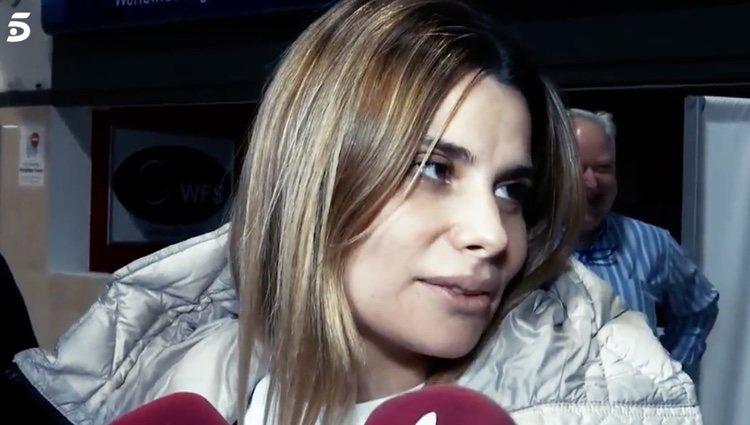María Lapiedra hablando sobre su relación con Gustavo Gonzalez