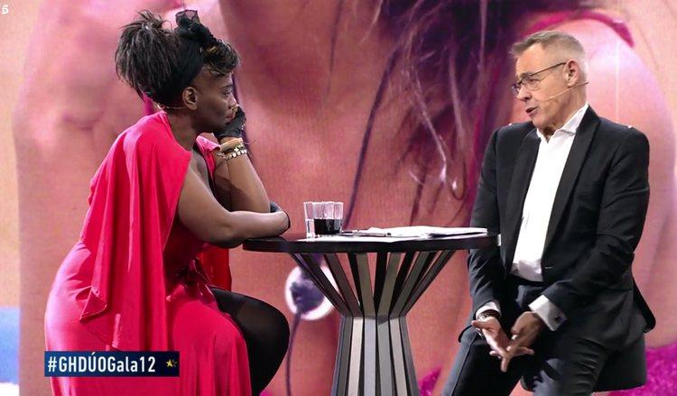 Carolina Sobe durante la entrevista en plató | Foto: Telecinco.es
