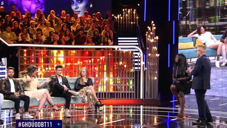 Fue un momento muy tenso en plató | Foto: Telecinco.es