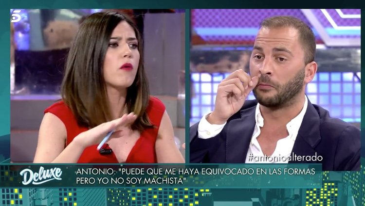 Núria Marín y Antonio Tejado en 'Sábado Deluxe' | Foto: telecinco.es
