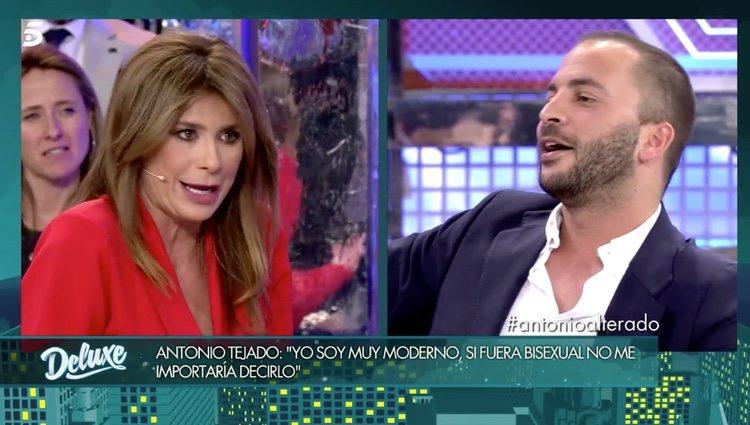 Gema López y Antonio Tejado en 'Sábado Deluxe' | Foto: telecinco.es