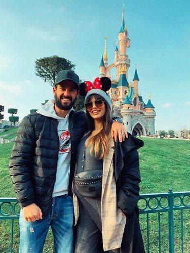 Isco Alarcón y Sara Sálamo en Disneyland/ Foto: Instagram
