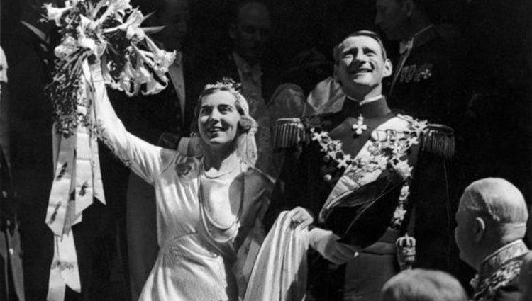 Boda de los Reyes Federico IX e Ingrid de Dinamarca | Pinterest
