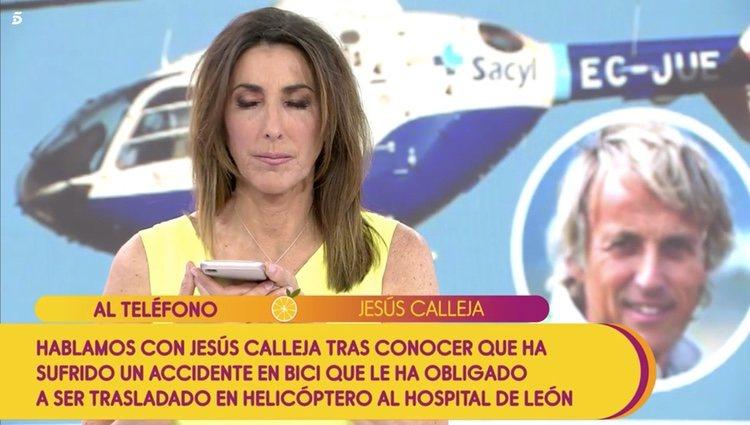 Jesús Calleja interviene en 'Sálvame' | Foto: Telecinco.es