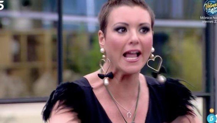 María Jesús Ruiz muy enfadada | Foto: telecinco.es