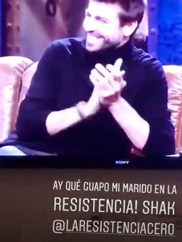 Gerard Piqué en 'La resistencia'/ Foto: Movistar +