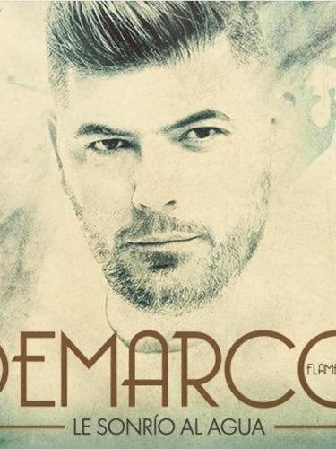 Portada disco Demarco Flamenco, 'Te sonrío al agua'