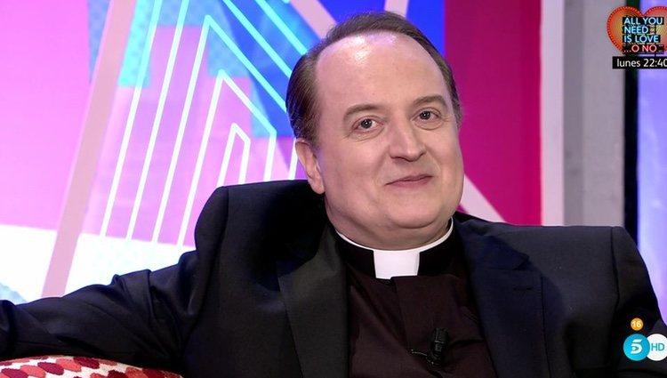 El Padre Apeles en una de sus apariciones públicas | Foto: telecinco.es