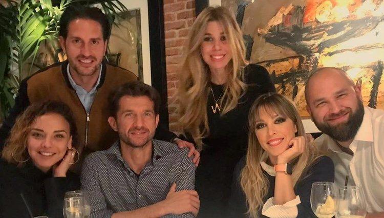 Chenoa, Gisela y Natalia con las parejas | Instagram